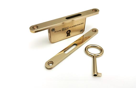 Brass Box Lock