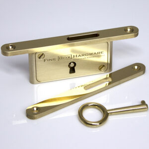 Neat Elite Slim Lock - Polished Brass