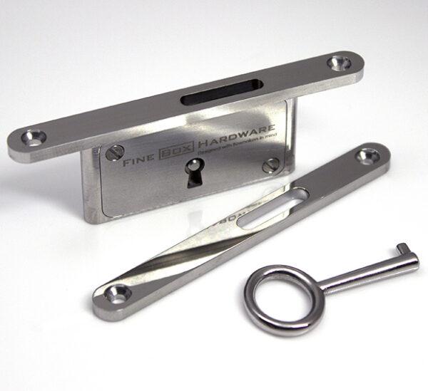 Neat Elite Slim Lock - Polished Stainless Steel