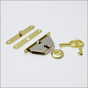Box Lock mid-budget in brass