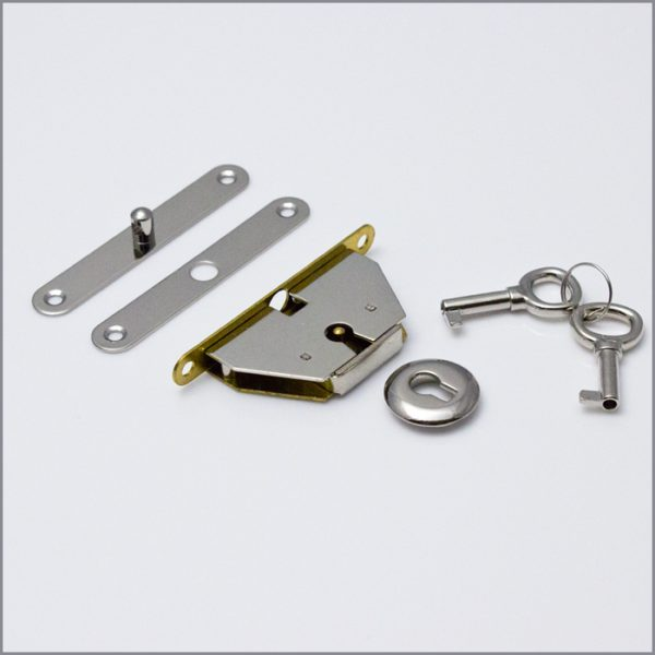 Jewelry Box Lock mid range nickel